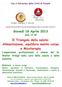 alimentazione micoterapia 18 aprile 2013 fiesole